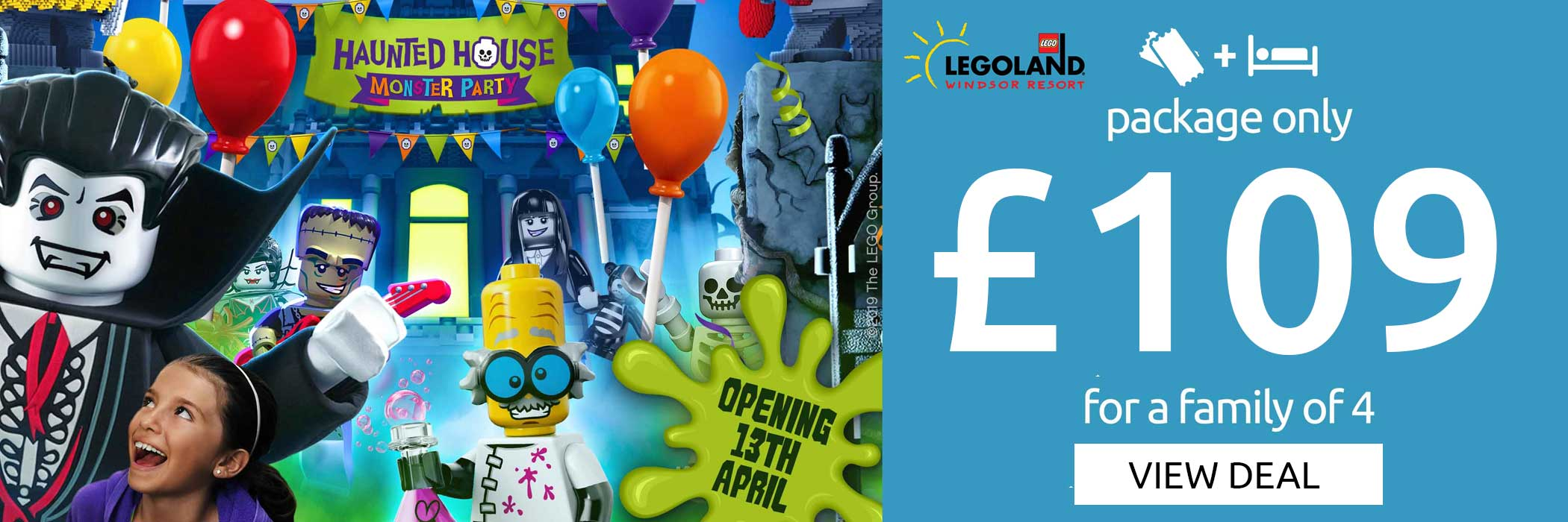 Legoland 109 pound offer