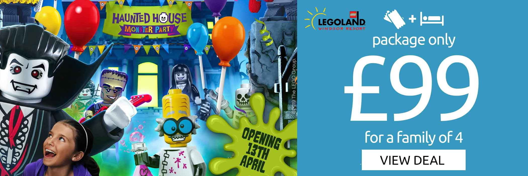 Legoland 99 pound offer
