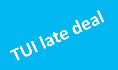 TUI Late deal Offer