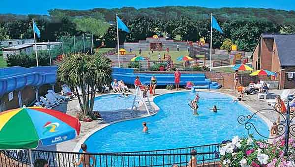 Parkdean lower hyde Holiday Park outdoor pool