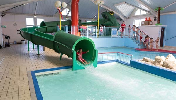 Parkdean Thorness Bay Holiday Park water slide