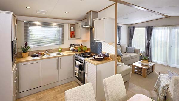 Parkdean Ty Mawr Holiday Park kitchen