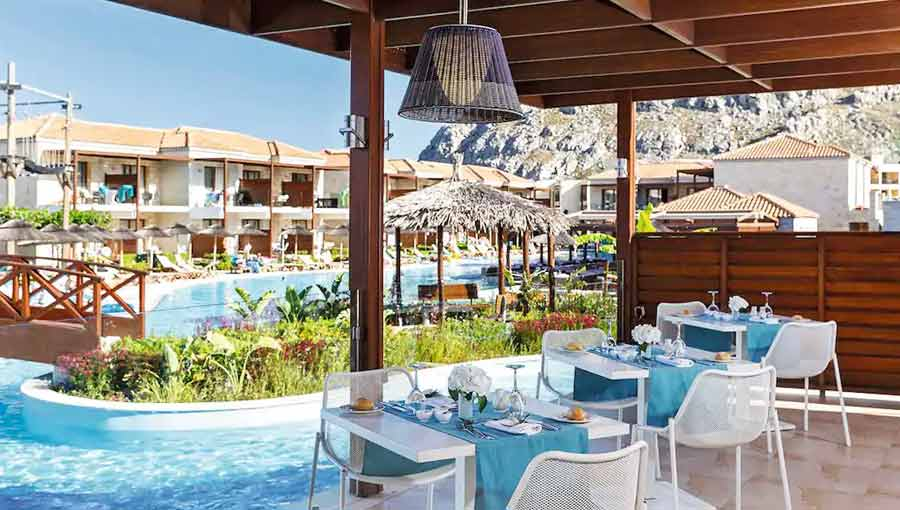 First Choice Holiday Village Rhodes Greek Restaurant