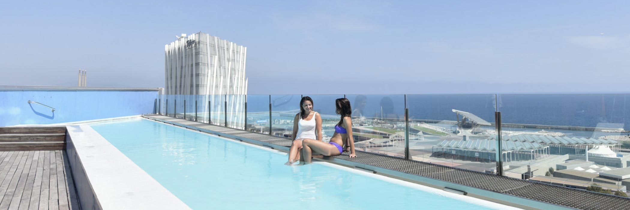 Barcelona Princess Hotel Rooftop Pool