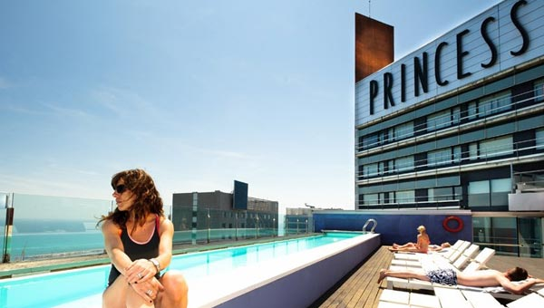 Barcelona Princess Rooftop Pool