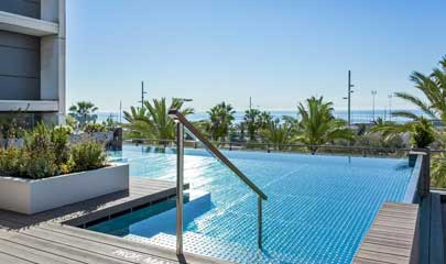Hotel Occidental Atenea Mar Pool Barcelona
