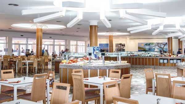 First Choice Holiday Village Seaview ibiza buffet restaurant