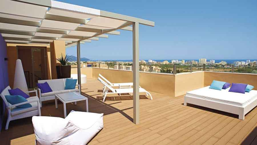 First Choice Holiday Village Majorca duplex apartment with roof terrace