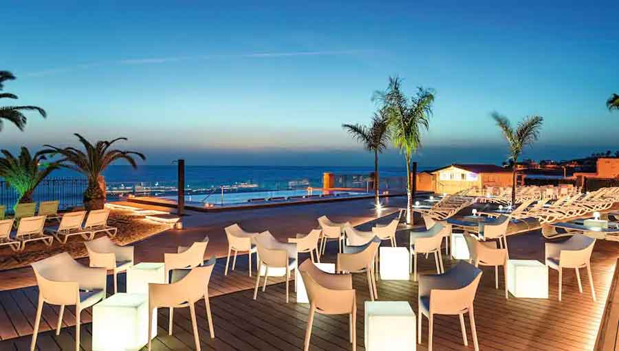 H10 Costa Adeje Palace Hotel Tenerife Chill Out Bar