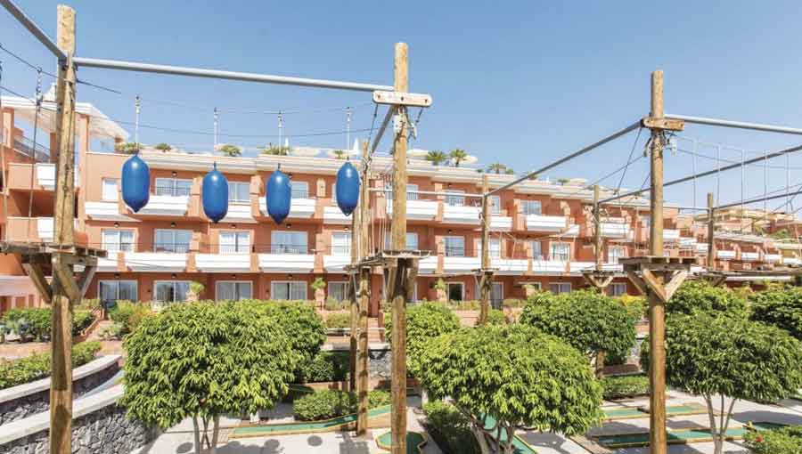 First Choice Holiday Village Tenerife high ropes