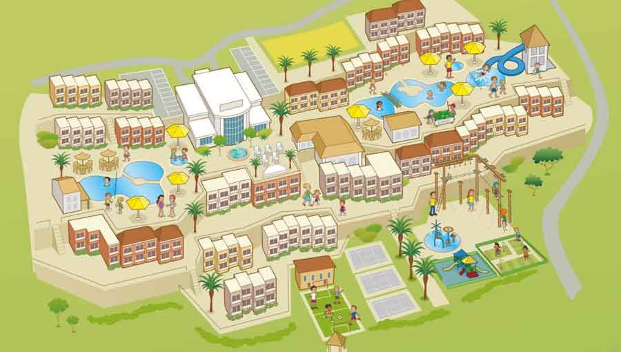 First Choice Holiday Village Tenerife map