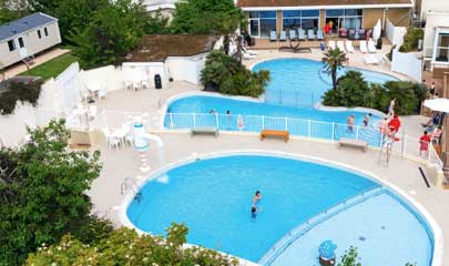 Haven Devon Cliffs Holiday Park Swimming pool