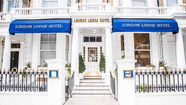 London Lodge Hotel Exterior