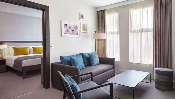 Staybridge Suites Vauxhall Living Room